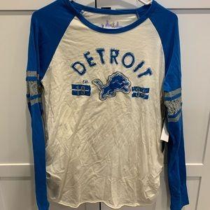 Detroit Lions maternity top